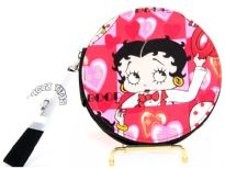 Betty Boop CD/DVD cover with all round zipper