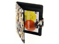 Printed Fabric ladies Small Wallet