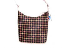 PVC checker Fashion Hobo