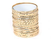 Brass Bangles<br> 6 Design Mix