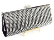 Rhinestones studded(Both sides) evening bag