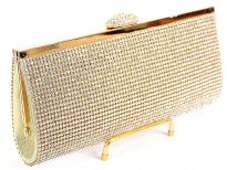 Rhinestones studded(Both sides)evening bag