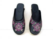 Hand Beaded Ladies Shoes<br> S
