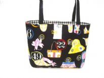 Designer Fabric Bag. Made in U