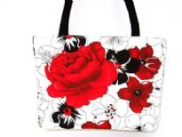 Designer Fabric Bucket Bag. Ma