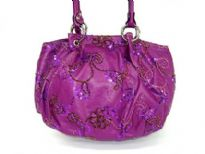 Sequined & embroidered PU Special Occasion handbag