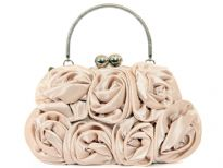 Rose Flower Evening Bag