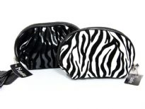 Animal Print cosmetic bag.