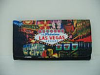 Las Vegas Check Book wallet
