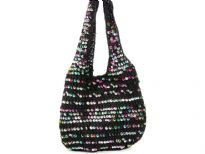 Hand Crochet sequin Evening   bag
