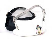 Betty Boop Hobo Bag with Broad Belt like Handle with Studs