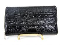 Alligator embossed PVC check Book wallet