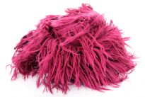 This fringed style is sure to be a favorite. This 100% acrylic fringe scarf has a lightweight knit design that you can drape and wear in numerous ways. Long fringes on the edges makes it more funky. Imported.