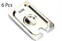 Stainless Steel 1/9 Notch cover 25 Gauge NSF.