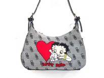 Betty Boop Jacquard Handbag
