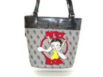 Betty Boop Jacquard Bucket bag