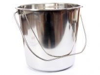 Stainless Steel 12 Quarts Pail.