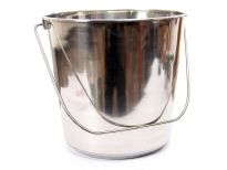 Stainless Steel 15 Quarts Pail.