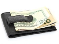 Man Made leather Money clip