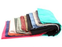 Assorted colors cotton scarf<br> sold per dozen
