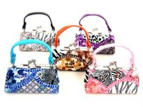 Assorted colors mini coin purse.