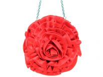Rose Flower(Both sides) Satin Evening Bag