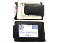 Carry your money in style. This is a slim design genuine leather magnetic money clip with ID/Credit card holder. As this is genuine leather, please be aware that there will be some small creases and nicks in the leather but the wallet are all brand new. Perfect for gifts, resale or swap-meet.