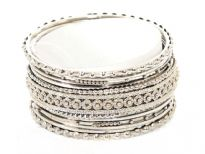 Metal Bangles (13 pieces set)