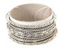 Metal Bangles (11 pieces set)