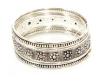 Metal Bangles ( 9 pieces set)