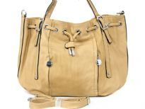 PU Fashion Handbag<BR>Top Zip & Snap Button closing<br>Zip Top Small side compartment<br> Outside Zipper Pocket