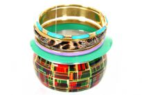 Five pieces bangle set