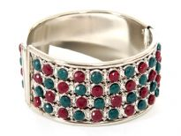 Metal Folding Bracelets (12 Pieces in Box)