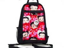 Betty Boop Large Pink Heart Back-pack