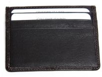 Genuine leather credit card holder.