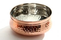 Stainless Steel Copper Plated Moracan Dish