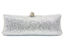 Metal Frame Evening Bag