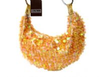 Hand Beaded Sequin Evening bag
