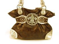 Fleur De Liz Licensed PVC Handbag