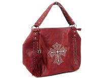 PVC Cross Bag. Top zipper closing. Center Divider and side zipper pocket.