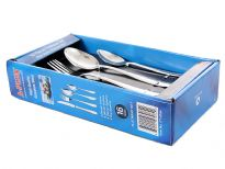 Stainless Steel 16 pieces Cutlery Set. Hand Buffer and Hand Polished. Made in India
