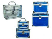 Transparent multi-purpose case/ 3 pieces set