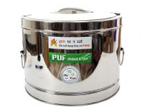 Stainless Steel 10 litre hot pot with Puf insulation