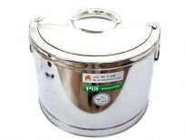 Stainless steel 25 litre hot pot with PUF insulation
