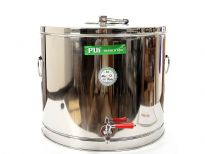 Stainless Steel Hot Pot with Puf Insulation for Liquid with Tap