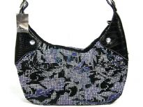 Printed Metal Mesh Handbag