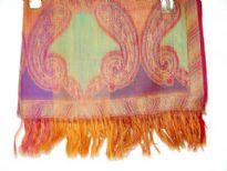 100% pure Wool Jamawar shawl