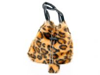 Faux Fur Pouch Bag