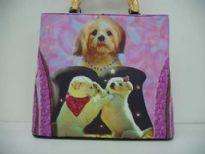 Unique looking bag. Dog Bag