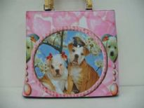 Unique looking bag. Animal ba